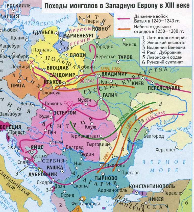 Племена и народы Евразии в